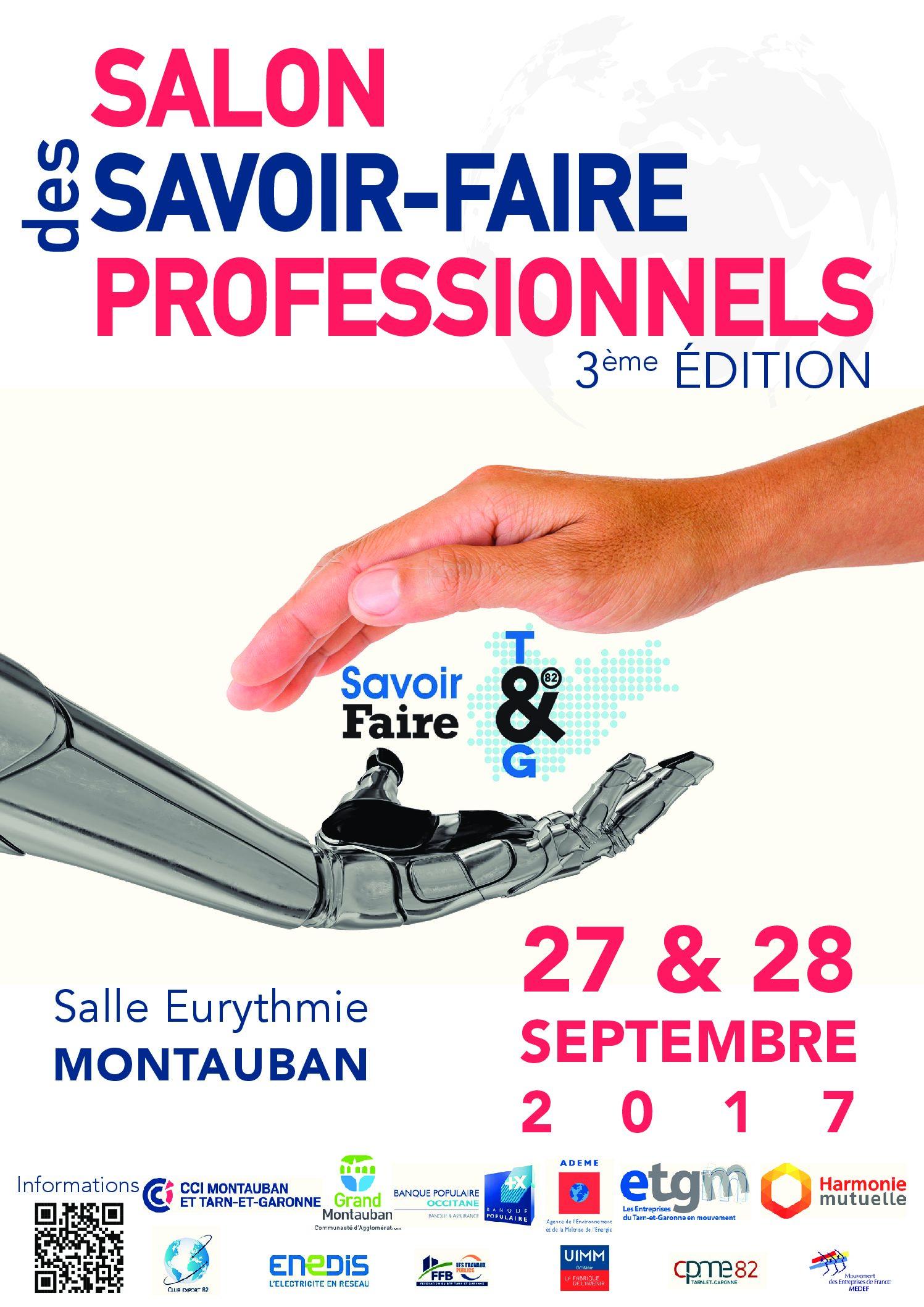 Salon des SAVOIR FAIRE PROFESSIONNELS