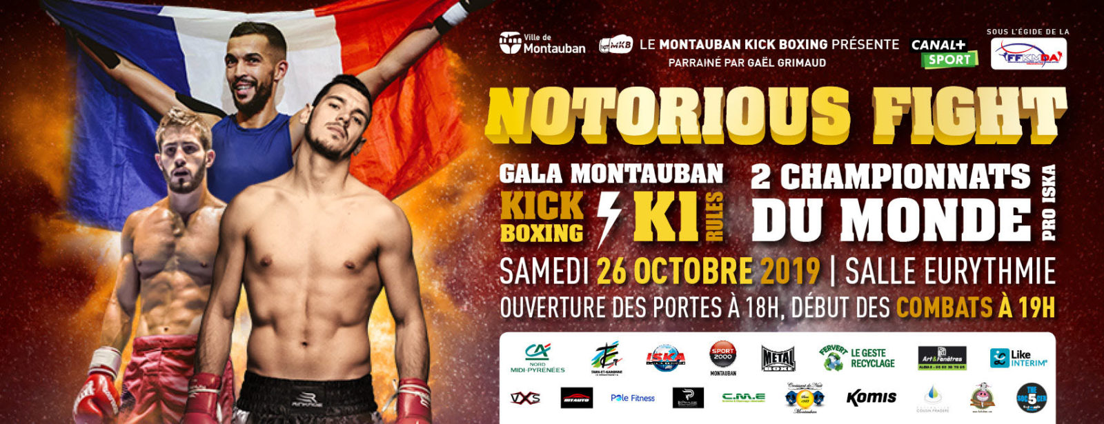 Soiree NOTORIOUS FIGHT